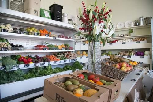Økologiske gårdbutikker